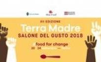 TERRA MADRE SALONE DEL GUSTO-TORINO, 20/24 SETTEMBRE