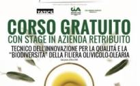 Corso per la qualità e la biodiversità della filiera olivicolo-olearia